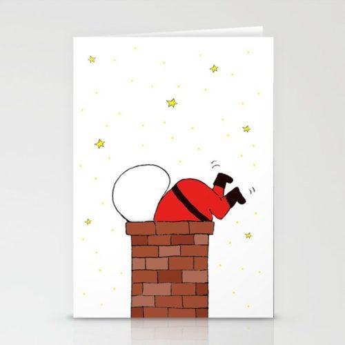 クリスマスカード サンタ